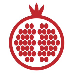 Juicy Sacred Living pomegranate icon